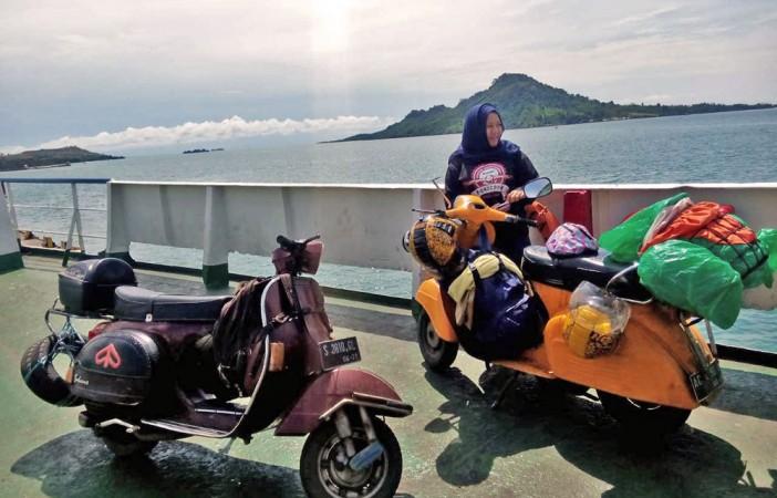 Catatan Ladyscoot Pelintas Jawa-Sumatera