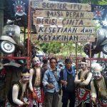 "Gerbang Masuk ""Ngumpul Bareng Para Penunggang Mesin Kanan"" | Foto : Eka Hasya"